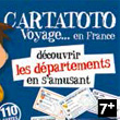 Cartatoto Départements Card Game France Cartes