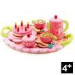 Lili Rose's tea and cake set Wooden Pretend-Play Toy