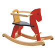 Rocking horse with arch Pintoy