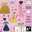 Stickers & Paperdolls Robes des 4 saisons Design By Charlotte Gastaut