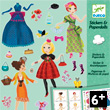 Stickers & Paperdolls Trop mode... Design By Peggy Nille Djeco