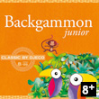 Backgammon Junior Classic Game Djeco