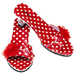 Red Shoes Inès - Accessories for girls Souza for kids