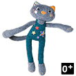 Elastoc the cat acrobat - Magic Circus Ebulobo