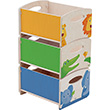 3 stackable storage boxes Zoo Haba