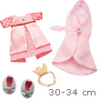 Dress Set Princess - Clothes for 30-34 cm dolls