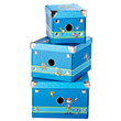 Set of 3 storage boxes - Sigikid Sammy Samoa Sigikid