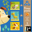 Primo Puzzle Dogs - 3 puzzles 4-6-9 pieces Djeco