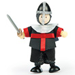 Figurine Budkins Chevalier La Vallette