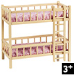 Bunk Bed - Furniture for dolls Goki
