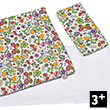 Bedding Set for dolls - Flower Patterns