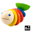 Wooden Grabbing Toy Moby Fish
