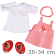 Dress Set Little Bird - Clothes for 30-34 cm dolls Haba