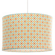 Cotton fabric pendant light-shade Castle Little Big Room by Djeco