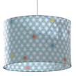 Cotton fabric pendant light-shade Stars Little Big Room by Djeco