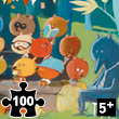 Puzzle Gallery 100 pièces Forest friends Djeco