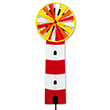 Garden Windmill Magic Wheel Lighthouse Ø25cm Colours in Motion