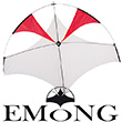 EMONG single-line gliding kite red
