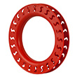 Yoyo Hoop Winder Ø18cm for Single Line Kite red