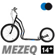 Mezeq II trottinette ado/adulte 14+ - BLACK/BLUE