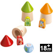 The Animal Hiding Place - Wooden Matching Game Haba