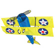 Stearman Biplane Aircraft Single-line Kite Premier Kites & Designs