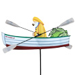 WhirliGig Decorative Spinner Fisherman 45cm