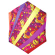 Rokkaku Kite Warm Orbit Rays 160x168cm Premier Kites & Designs