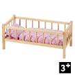 Wooden Bed for dolls Goki