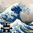 Puzzle Great Wave by Hokusai - 1000 pieces Piatnik