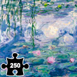 Water-Lily Pond and Weeping Willow - Wooden Art Puzzle