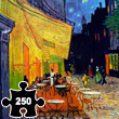 Cafe Terrace at Night - Wooden Art Puzzle Puzzle Michèle Wilson