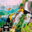 Keel-billed Toucans - Wooden Art Puzzle