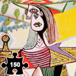 Woman in Garden - Wooden Art Puzzle Puzzle Michèle Wilson