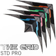 The Grid Pro - Ultra Versatile Stunt Kite Blue