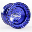 YoyoFactory SuperNova - Aluminium Yo-yo Blue-Black Acid Wash