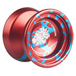 YoyoFactory SuperNova - Aluminium Yo-yo Red-Blue Splash SEVERE X Edition