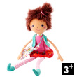 Soft Doll Mona - Circus Collection Lilliputiens