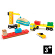 Dock & Harbour Set - Wooden toy cars Le Toy Van
