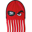 Single-line Kite Squeaker The Octopus Red Pirate Premier Kites & Designs