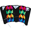 Cerf-volant Power Sled 24 Large Rainbow Illusion 242x113cm Premier Kites & Designs
