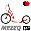 Mezeq II Scooter 14+ - RED/BLACK
