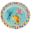 Melamine Plate - Children Tableware - Magic Circus Ebulobo