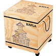 1000 Kapla blocks rolling wooden storage bin Kapla