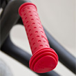 colourful Wishbone Hand Grips red