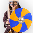 Viking Shield blue and yellow - Accessory for kids