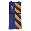 Lancelot Tunic blue/yellow - 5-10 years Costume for kids