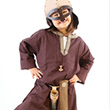 Tunique de Viking - Costume 5-10 ans
