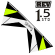 Revolution 1.5 Standard White-Lime-Black