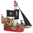 Pirate Ship - Wooden Toy Papo